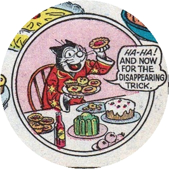 Korky the Cat in The Dandy comic book, UK