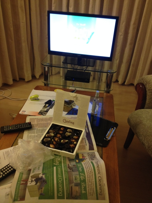2013-12-24-evening-uk-home-stuffing-face-with-chocolate
